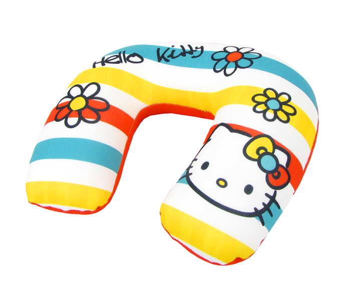 Photo: Hello Kitty Adult Travel Pillow: Bright Colors - $29.95 http://bit.ly/Iqro2V