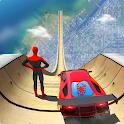 Spider Superhero Car Stunts: Car Driving Simulator icon