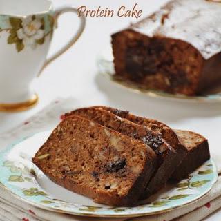 Chocolate protein cake recipe, How to make high protein bread|eggless chocolate walnut protein cake