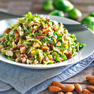Bacon and Brussel Sprout Salad.