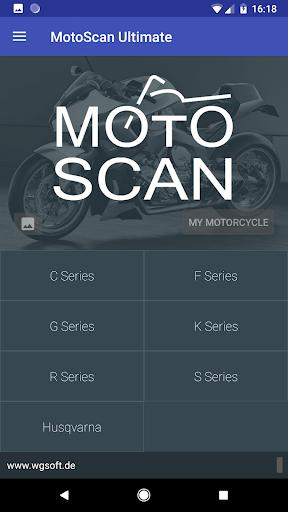 MotoScan for BMW Motorcycles screenshot