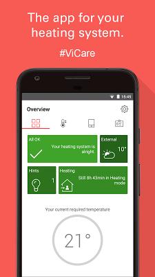 ViCare - screenshot