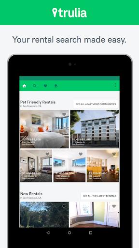 Trulia Rent Apartments & Homes Screenshot