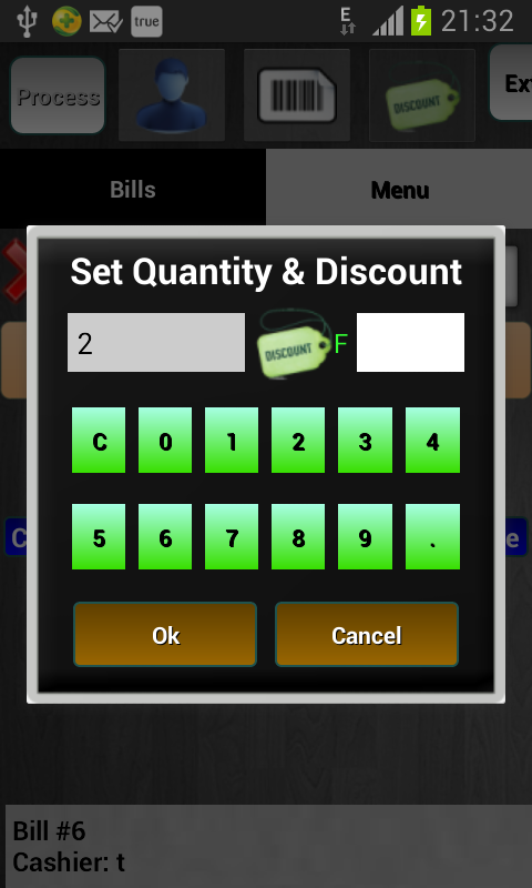 Restaurant Billing System- screenshot
