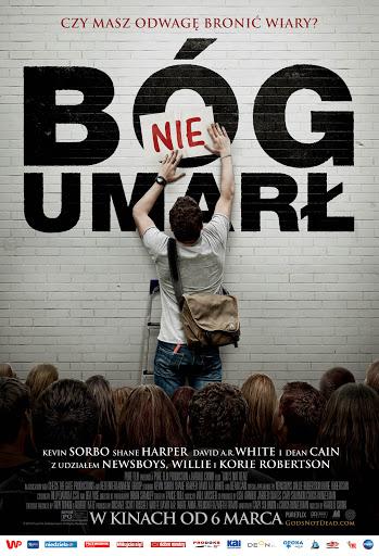 Polski plakat filmu 'Bóg Nie Umarł'