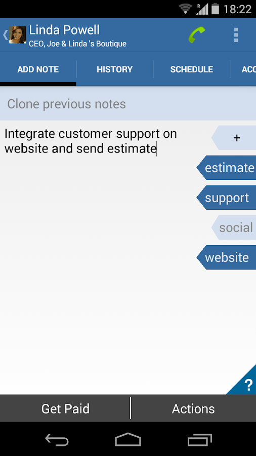 Relaso Sales CRM w/ Invoicing- screenshot