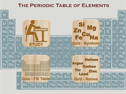 Periodic table of elements study quiz modes apps on google play screenshot image urtaz Image collections