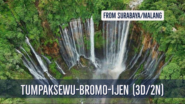 Overland Package Surabaya Malang Tumpaksewu Bromo Kawah Ijen Ijen Miner Tour