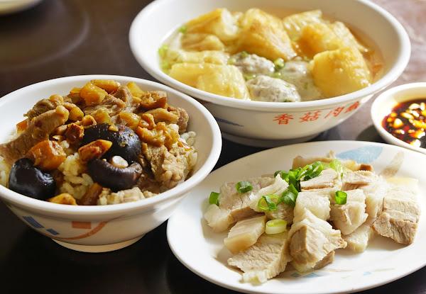 油條魚丸湯x美味香菇肉飯 遊子想念的古早味 高雄小吃推薦-和平香菇肉飯