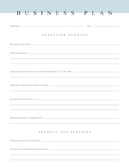 Simple Document - Business Plan item