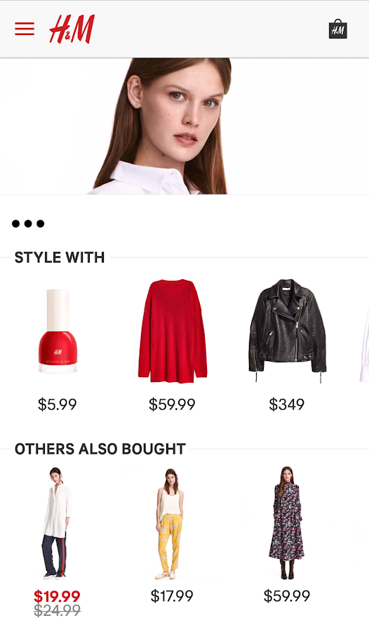 H&M- screenshot