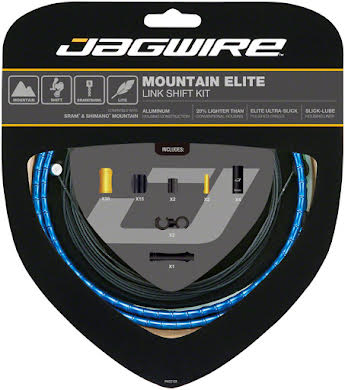 Jagwire Mountain Elite Link Shift Cable Kit with Ultra-Slick Uncoated Cables alternate image 5