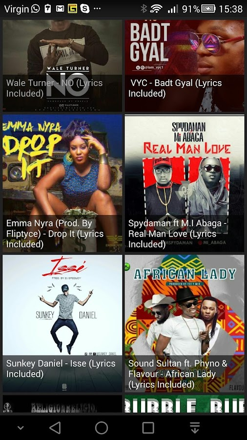 Naijapals Nigeria Music- screenshot