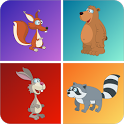 Kids Animal Games - Memo 🦁 🐼 icon