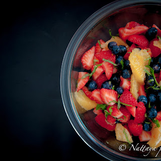 Spring fresh fruit salad by Natty's pantry