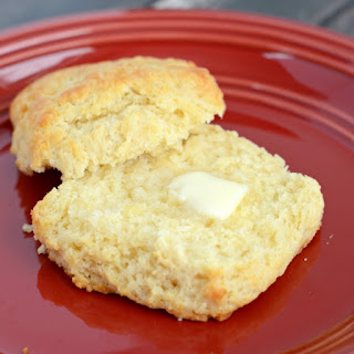 Super Easy Melted Butter Biscuits.