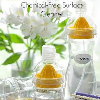 Chemical-Free Homemade Surface Cleaner.