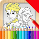 coloring princess happy for PC-Windows 7,8,10 and Mac