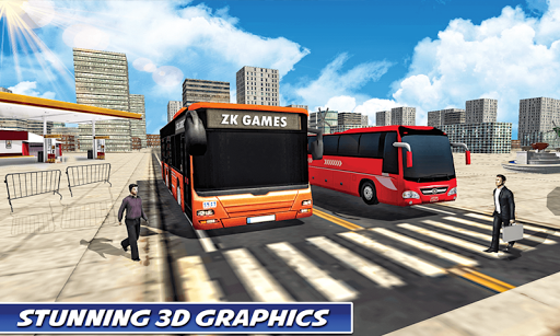 Luxury Coach Bus Simulator: Tourist Luxury Coach screenshots 21