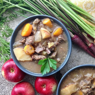 Apple Cider Beef Stew.