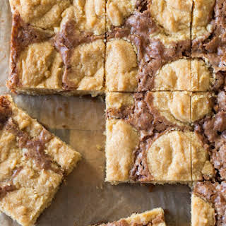 Peanut Butter Cookie Brownies.
