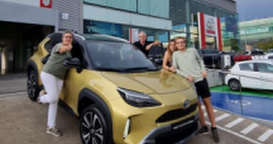 Arrancan las entregas del nuevo Toyota Yaris Cross Electric Hybrid