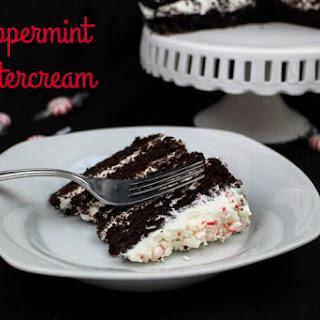 Peppermint Buttercream Icing