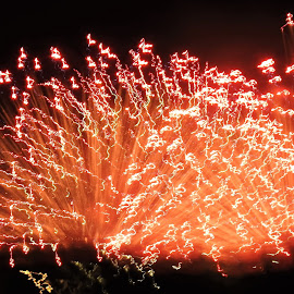 by Anthony Hutchinson - Abstract Fire & Fireworks (  )