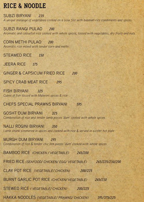The Riverside Bar & Kitchen menu 13