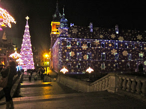 "Photo: ""Christmas in Warsaw""  Warsaw, Poland Megan Gallagher  2nd Place, Cityscapes   Old Town decorated for Christmas"