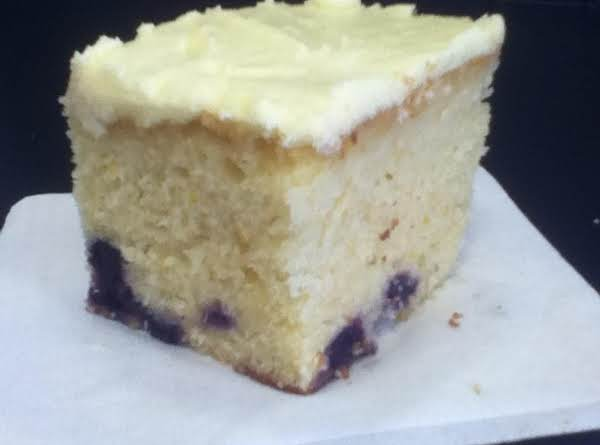Citrus Blueberry Cake Recipe