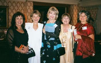 Photo: Maria (Martin) Chileen, Nancy (Friday) Pettus, Kathi (Hesson) Curtis, Donna McCartnery, Jayne (Harris) Lightfoot