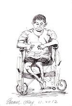 Photo: 我不是病人2012.05.21鋼筆 病舍這位收容人跟醫師說他並不是病人,希望能下工場跟大家一起工作…
