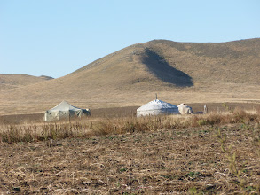 Photo: Ger - dwelling of the nomads
