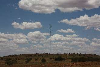 Photo: Year 2 Day 219 - Microwave Relay Station (Seen Everywhere in the Outback)