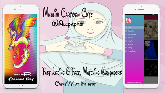 Anime Muslim Hijab Wallpapers Apps On Google Play