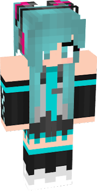 This is based off some fanart of Hatsune Miku, Credits to the creator of the fanart.