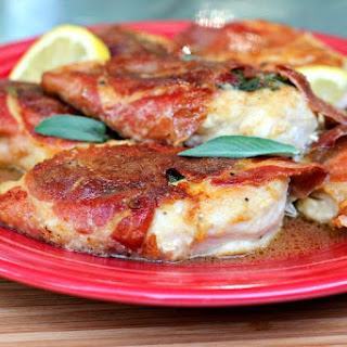 Chicken Saltimbocca.