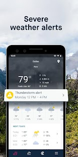 WeatherPro: Forecast, Radar & Widgets Screenshot