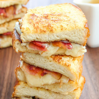 French Toast Grilled Cheese Sandwiches.