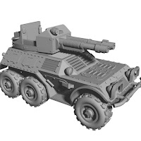 28mm armoured car 6x6