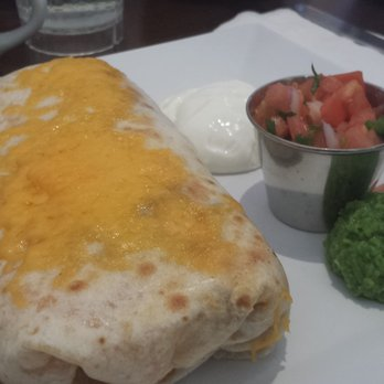 Jinky's Kanan Cafe - Breakfast Burrito with Pea Guacamole - Agoura Hills, CA, United States