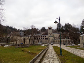 Photo: The town also had the 15th century Cetinje Monastery.