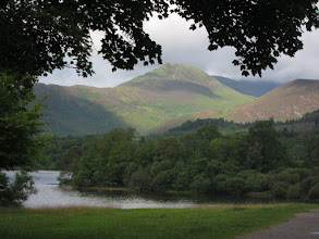 """Photo: The lake is Derwent Water (this time the """"w"""" is pronounced)."""