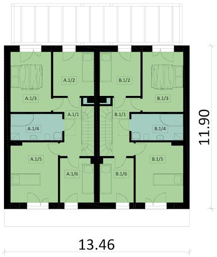 Ka85 B - Rzut piętra