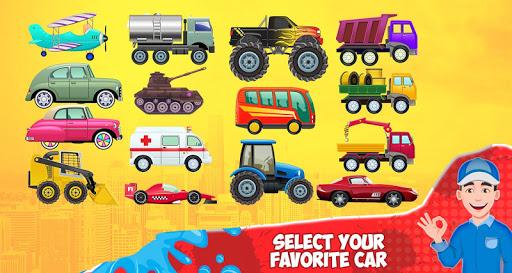 Kids Car Wash Service Station screenshot 2
