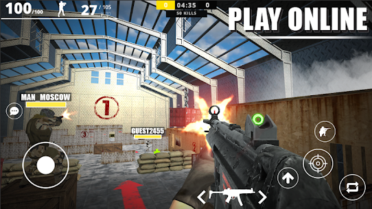 Strike Force Online Apk Mod Munição Infinita 3