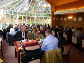 Photo: Lunch in the conservatory