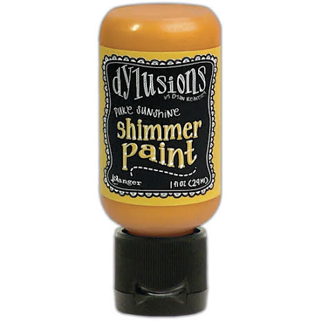 Dylusions Shimmer Paint 29ml - Pure Sunshine