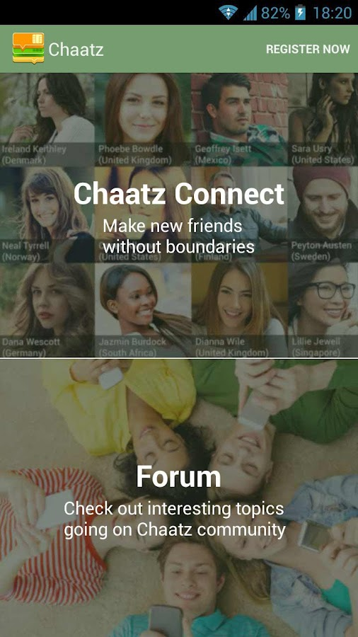 Chaatz - screenshot